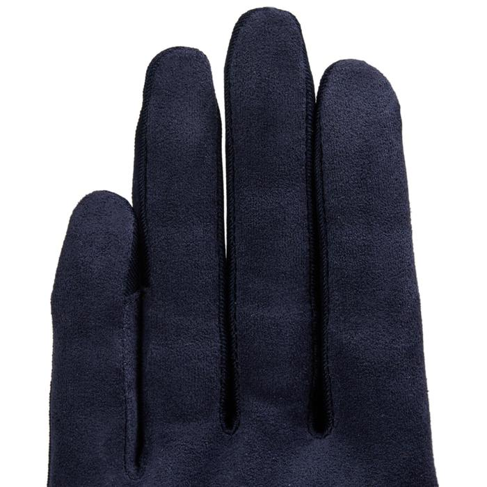 Reithandschuhe Basic Erwachsene dunkelblau