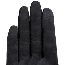 Basic Adult Horse Riding Gloves - Black