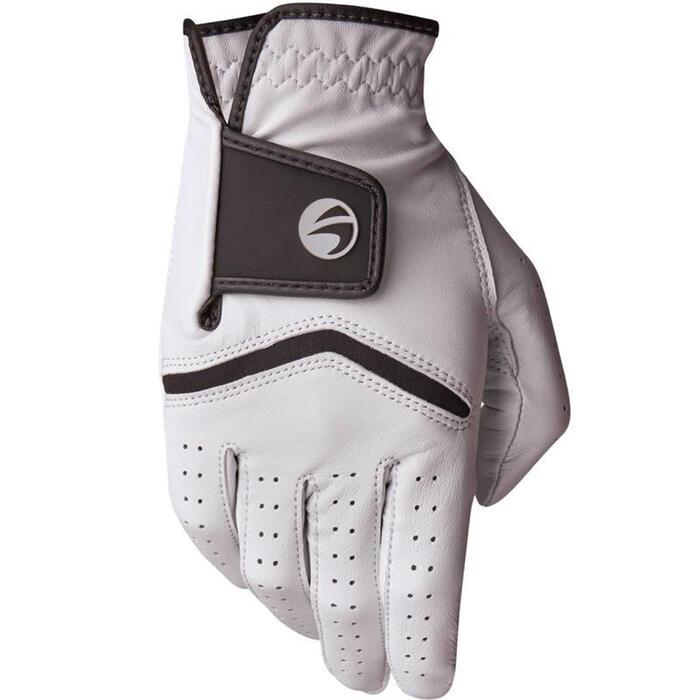 男款進階及專業級高爾夫球手套500-左手-白色