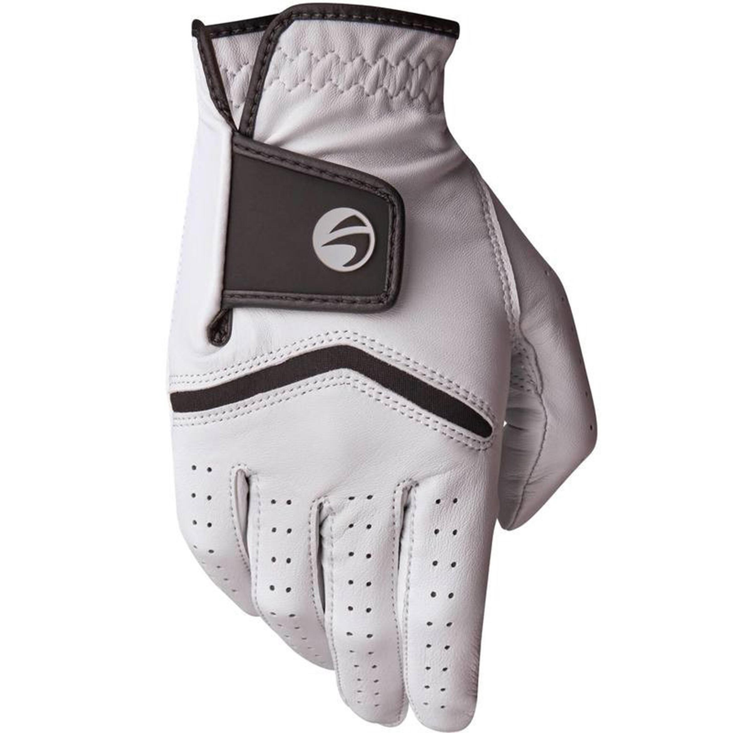 Inesis Golfhandschoen 500 voor heren, gevorderde en ervaren spelers, linkshandig wit