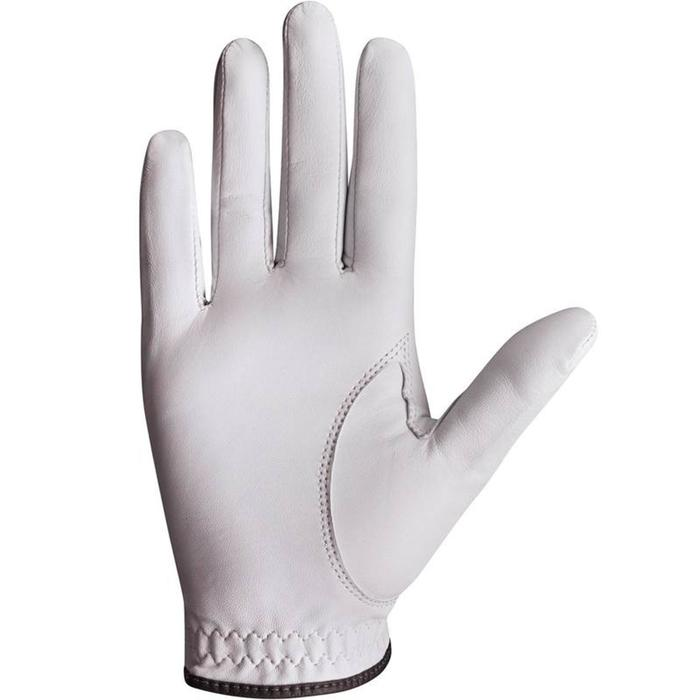 500 Men's Golf Advanced and Expert Glove - Left-Hander White - 1337369