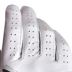 Gant de golf femme 500 confirmée et experte gauchère blanc