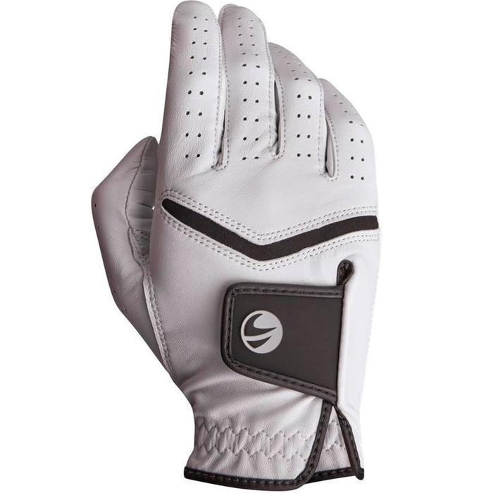 500 Men's Golf Advanced and Expert Glove - Left-Hander White - 1337371
