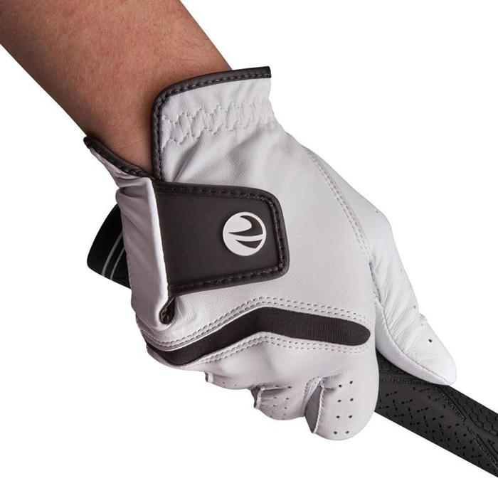 500 Men's Golf Advanced and Expert Glove - Left-Hander White - 1337372
