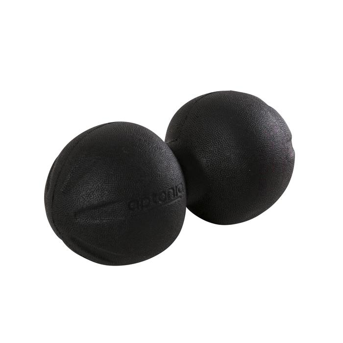 Balle de massage 500 DOUBLE, forme cacahuète