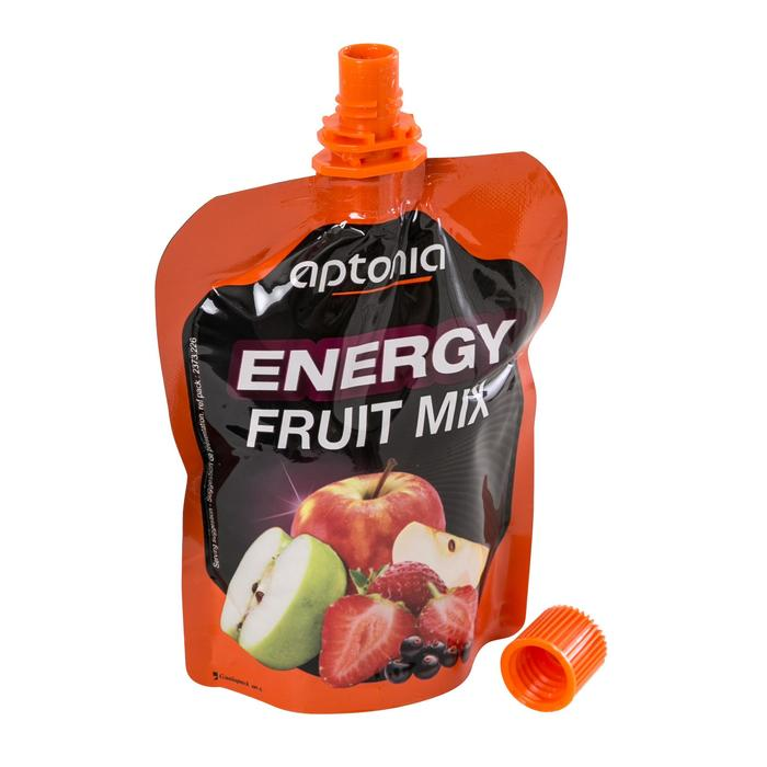 Vruchtenspecialiteit Energy Fruit Mix appel rode vruchten 4x 90 g