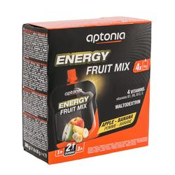 Vruchtenlekkernij Energy Fruit Mix appel banaan 4x 90g
