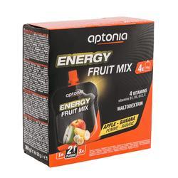 Vruchtenlekkernij Energy Fruit Mix appel banaan 4x 90g