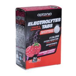 Tableta para bebida de electrólitos ELECTROLYTES TABS frutos rojos 20x4 g