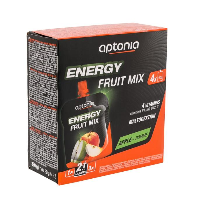 Vruchtenlekkernij Energy Fruit Mix appel 4x 90g