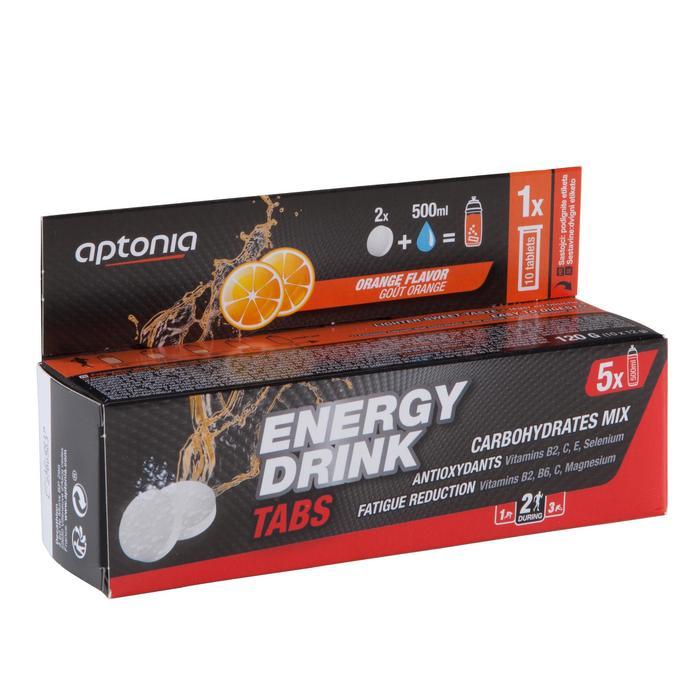 Bebida isotónica tabletas ENERGY DRINK TABS naranja 10x12 g