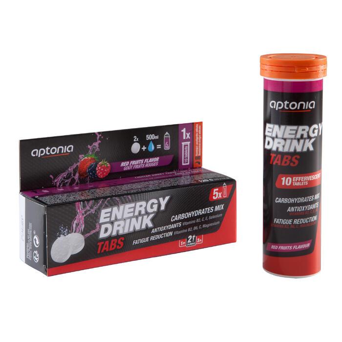 Boisson isotonique tablettes ENERGY DRINK TABS Fruits Rouges 10x12g