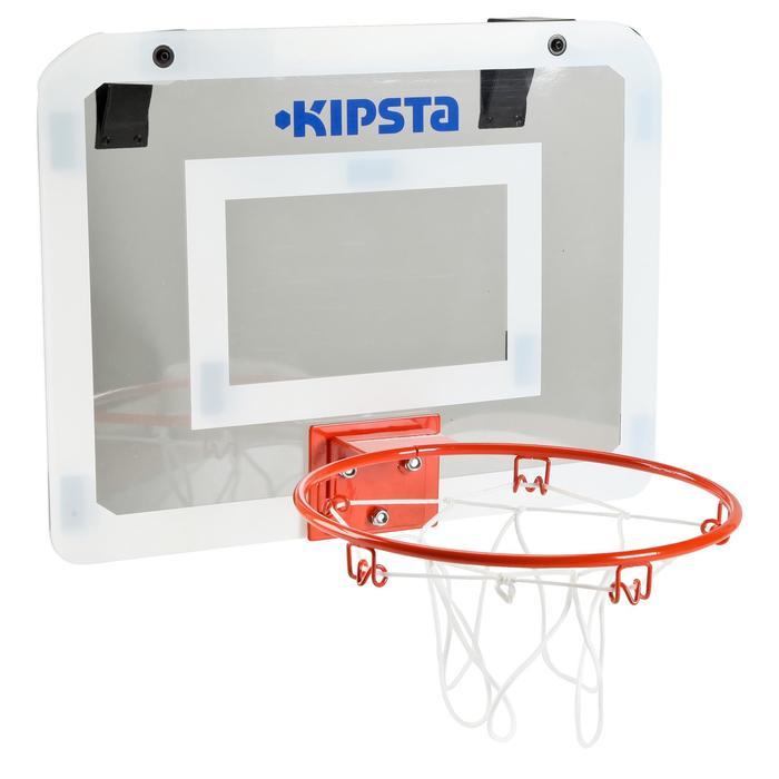 Panneau de basket set mini B Deluxe pour enfant et adulte à fixer au mur - 133751