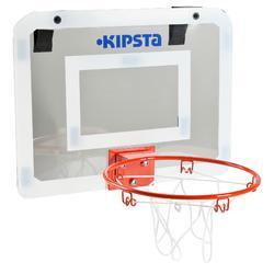 Panneau de basket set mini B Deluxe pour enfant et adulte à fixer au mur
