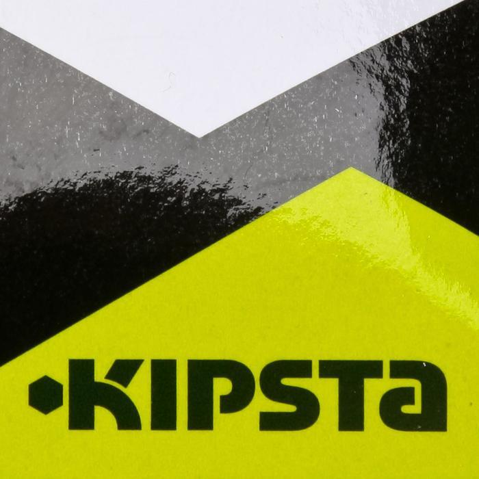 Set de 10 disques plats jaunes fluos - 133752