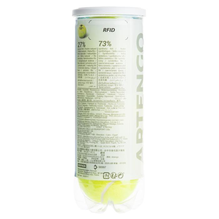 Tennisbälle TB 530* Druckball 3er Dose gelb