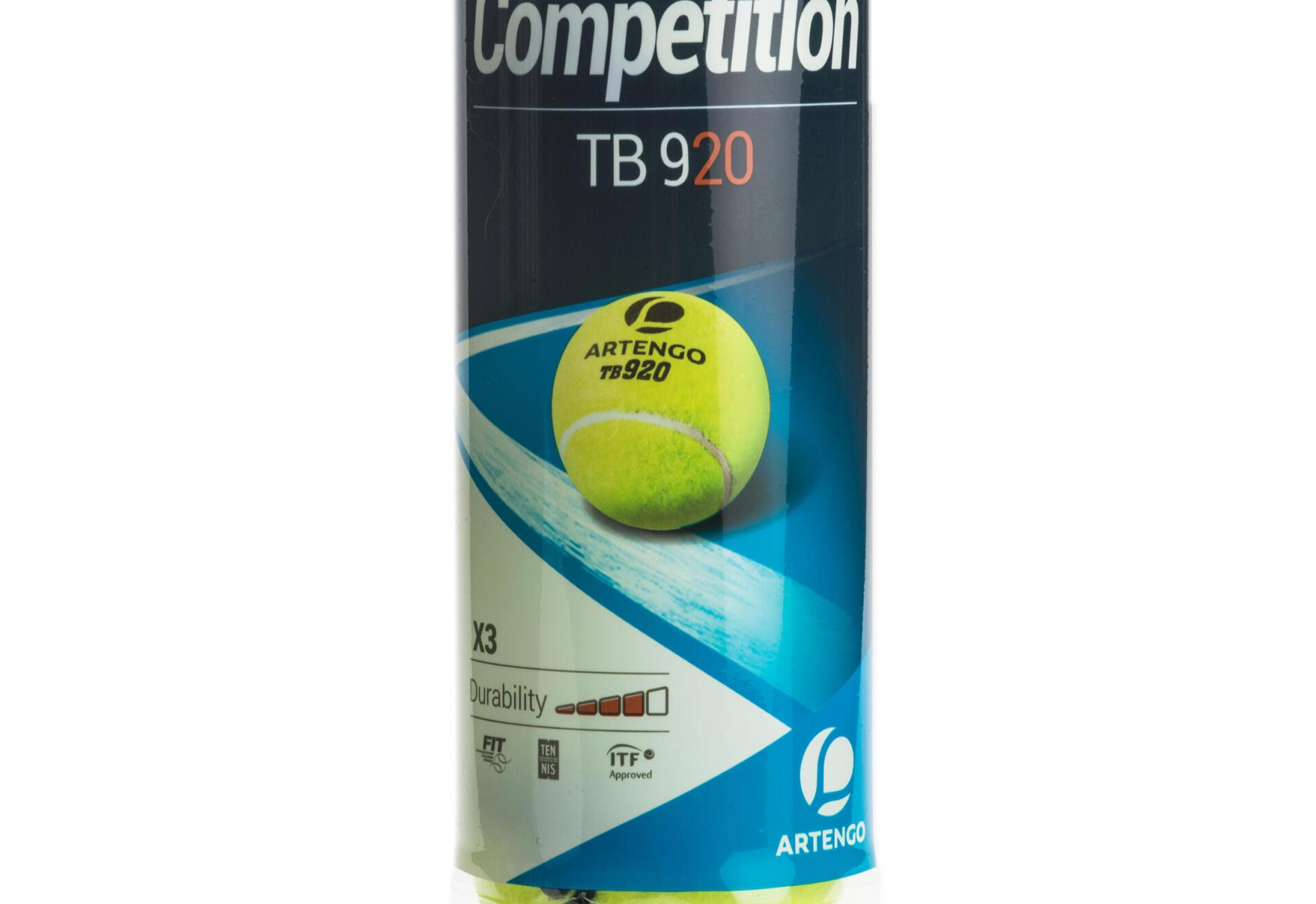 tb920 canned tennis pressurised ball