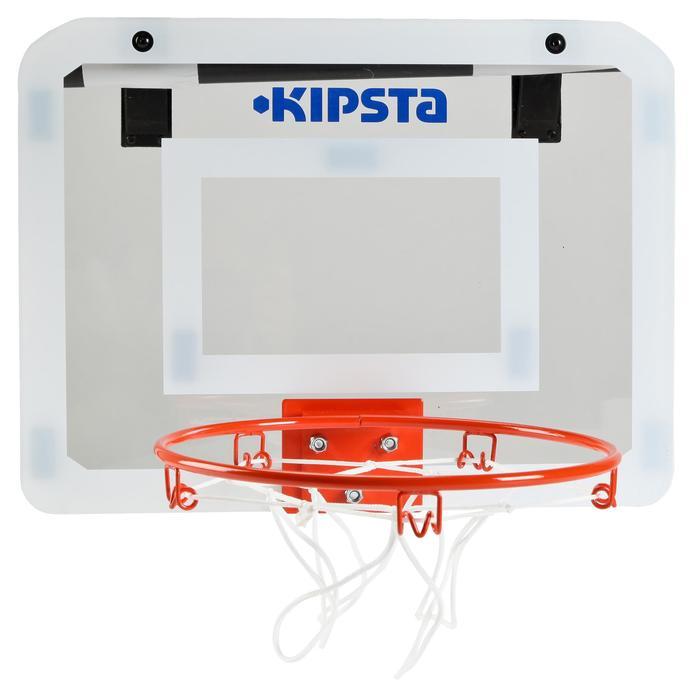 Panneau de basket set mini B Deluxe pour enfant et adulte à fixer au mur - 133756