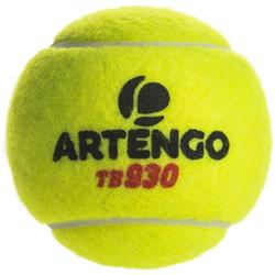 BALLE DE TENNIS TB930 *3 JAUNE