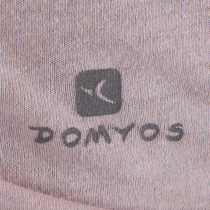 T-shirt manches courtes de danse fille rose pâle - 1337629