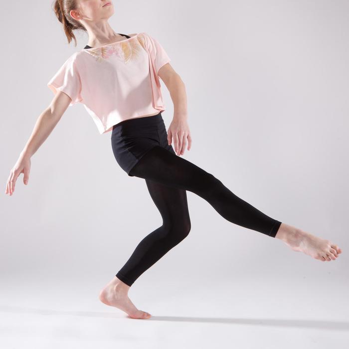 T-shirt danse court et ample manches courtes fille. - 1337644