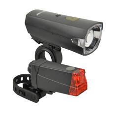 Fahrradbeleuchtung Set Front-/Rücklicht Fischer LED 12 LUX