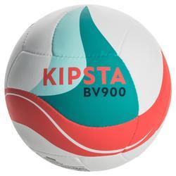 沙灘排球BV900 FIVB-白色/綠色/紅色