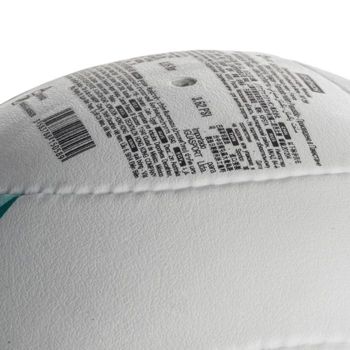 Ballon de beach-volley BV900 FIVB blanc vert et rouge - 1337674