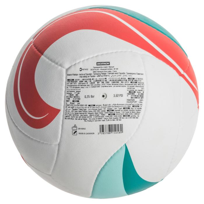 Ballon de beach-volley BV900 FIVB blanc vert et rouge - 1337677