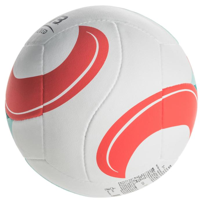 Ballon de beach-volley BV900 FIVB blanc vert et rouge - 1337679