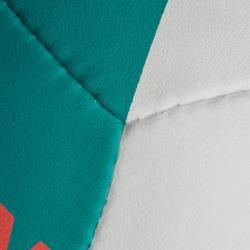 Bal beachvolley BV900 FIVB wit, groen en rood