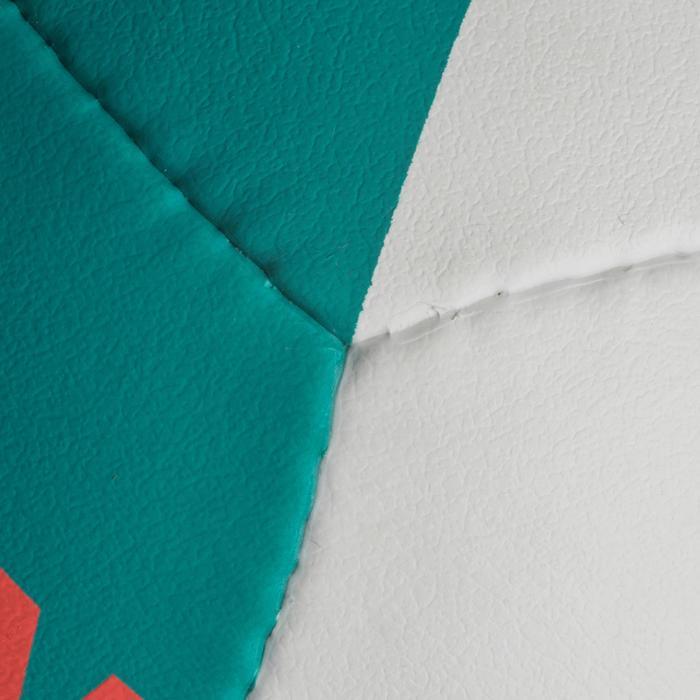 Bal voor beachvolley BV900 FIVB wit, groen en rood