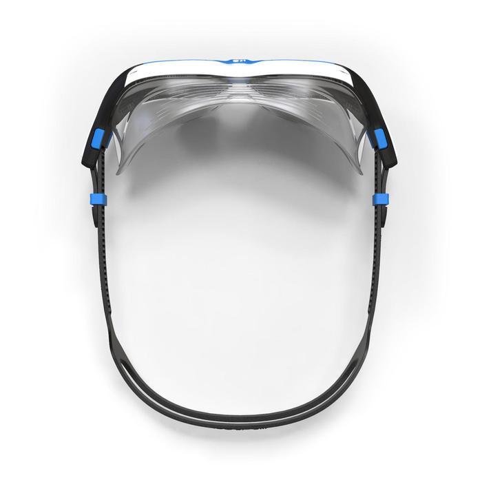 Zwembril Active maat L zwart blauw