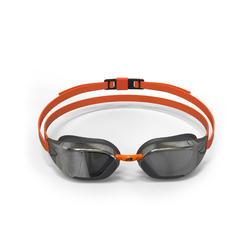 96f1fe6d7d5 Gafas Natación Piscina Nabaiji 900 Bfast Adulto Negro Naranja Antivaho