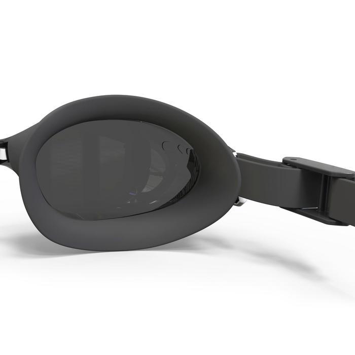 Lunettes de natation B-FIT  noir argent miroir - 1337738