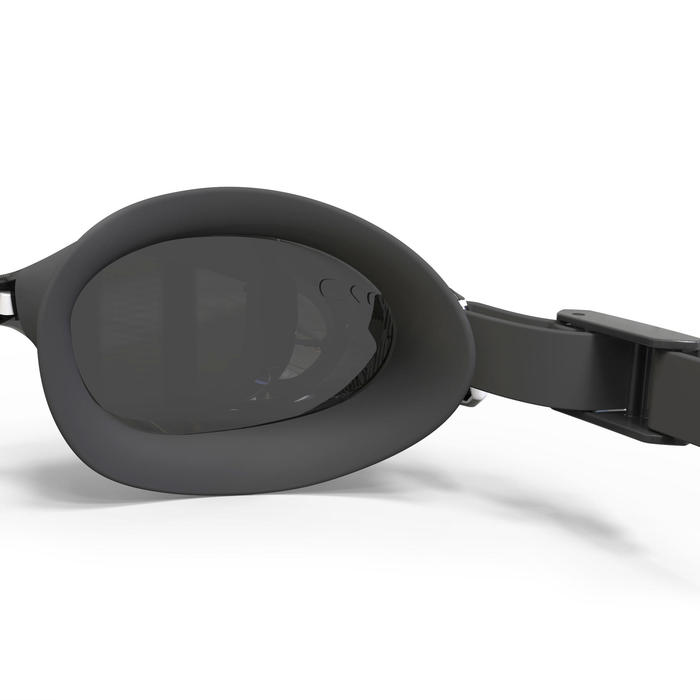 Zwembril 500 B-Fit wit/zwart getinte glazen