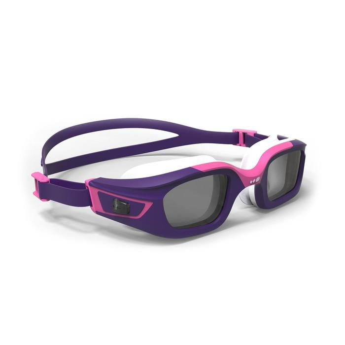 泳鏡500 SELFIT專用鏡框,S號 - 紫色/粉紅色