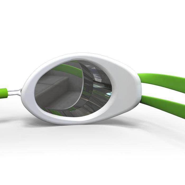 Gafas Natación Piscina Nabaiji Adulto Negro/Verde Suecas Antivaho
