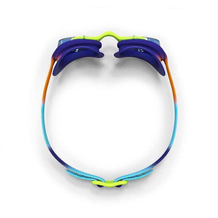 Schwimmbrille XBase Dye S orange/blau