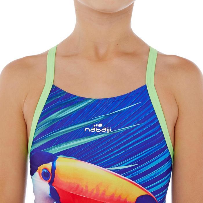 Maillot de bain de natation une pièce fille résistant au chlore Lidia - 1337781