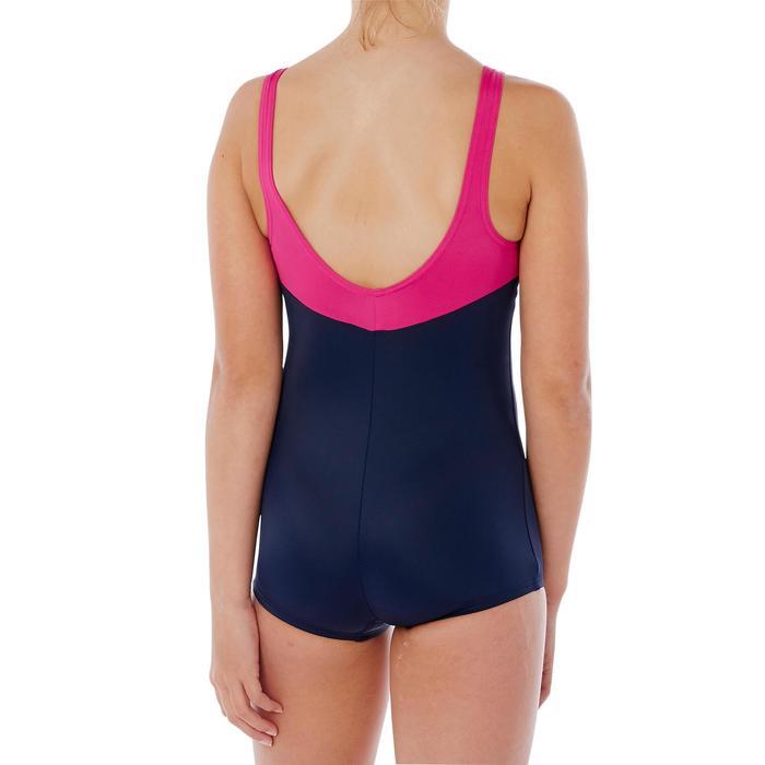 Badeanzug Shorty Loran Mädchen blau/rosa