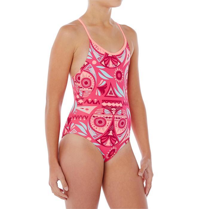 Badeanzug Riana Owly Mädchen rosa
