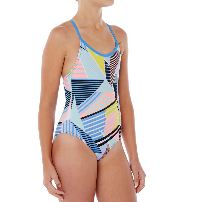 Costume Riana Azzurro Nabaiji Costumi Nuoto Bambina Sport In