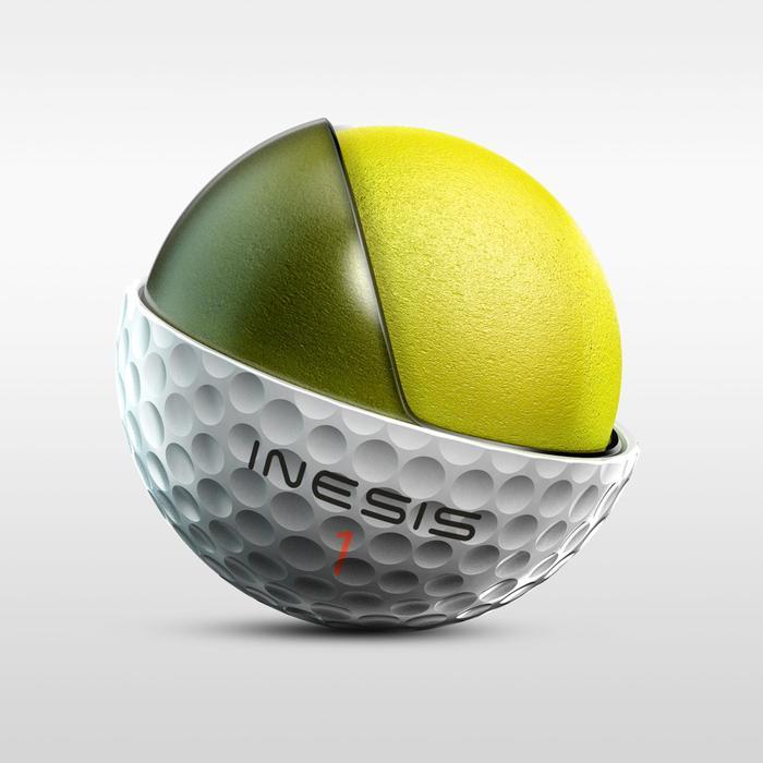 Balle de golf TOUR 900 X12 Blanc