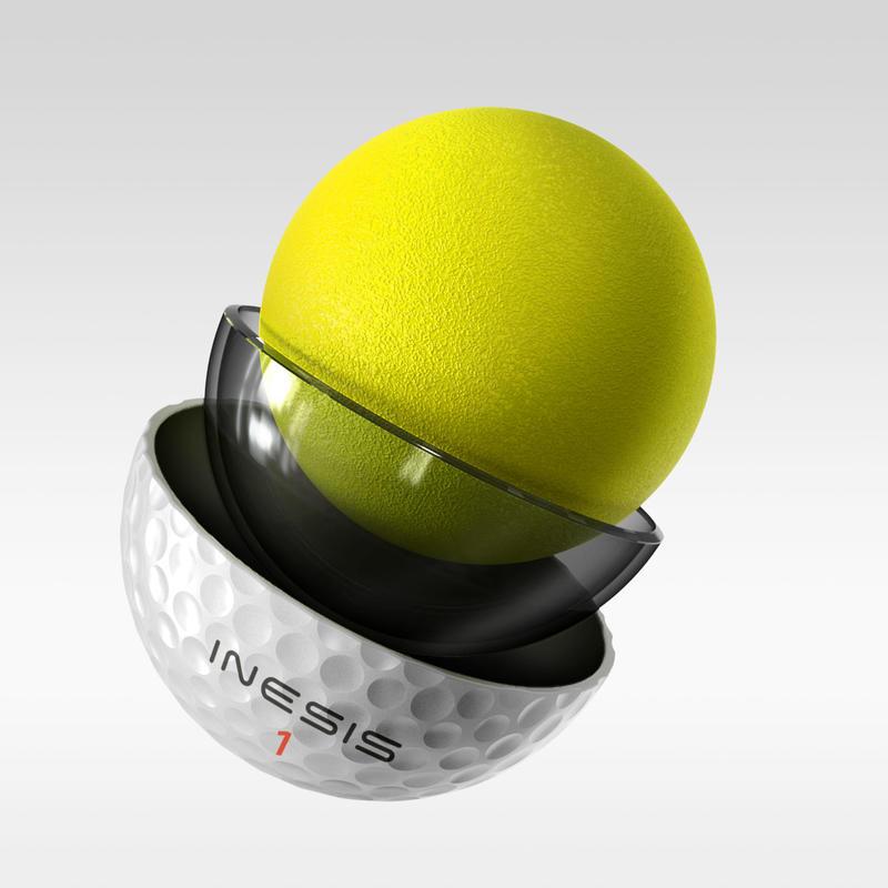 Tour 900 Golf Ball x12 White