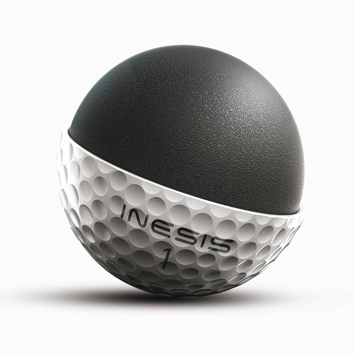 Balle de golf SOFT 500 X12 mat - 1337862