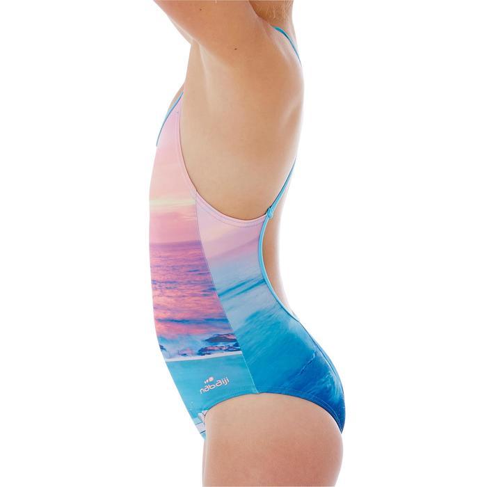 Maillot de natation fille une pièce Riana Popi - 1337867