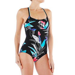 Meg Ultra Chlorine Resistant One-Piece Aquafitness Swimsuit - Tropical