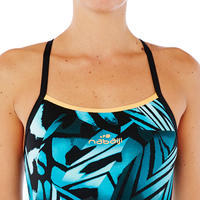 Jade Women's Chlorine-Resistant One-Piece Swimsuit - Wing Green