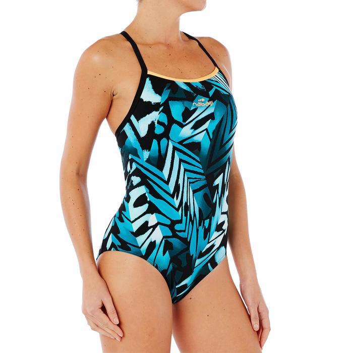 Maillot de bain natation une pièce ultra résistant au chlore femme Jade - 1337981
